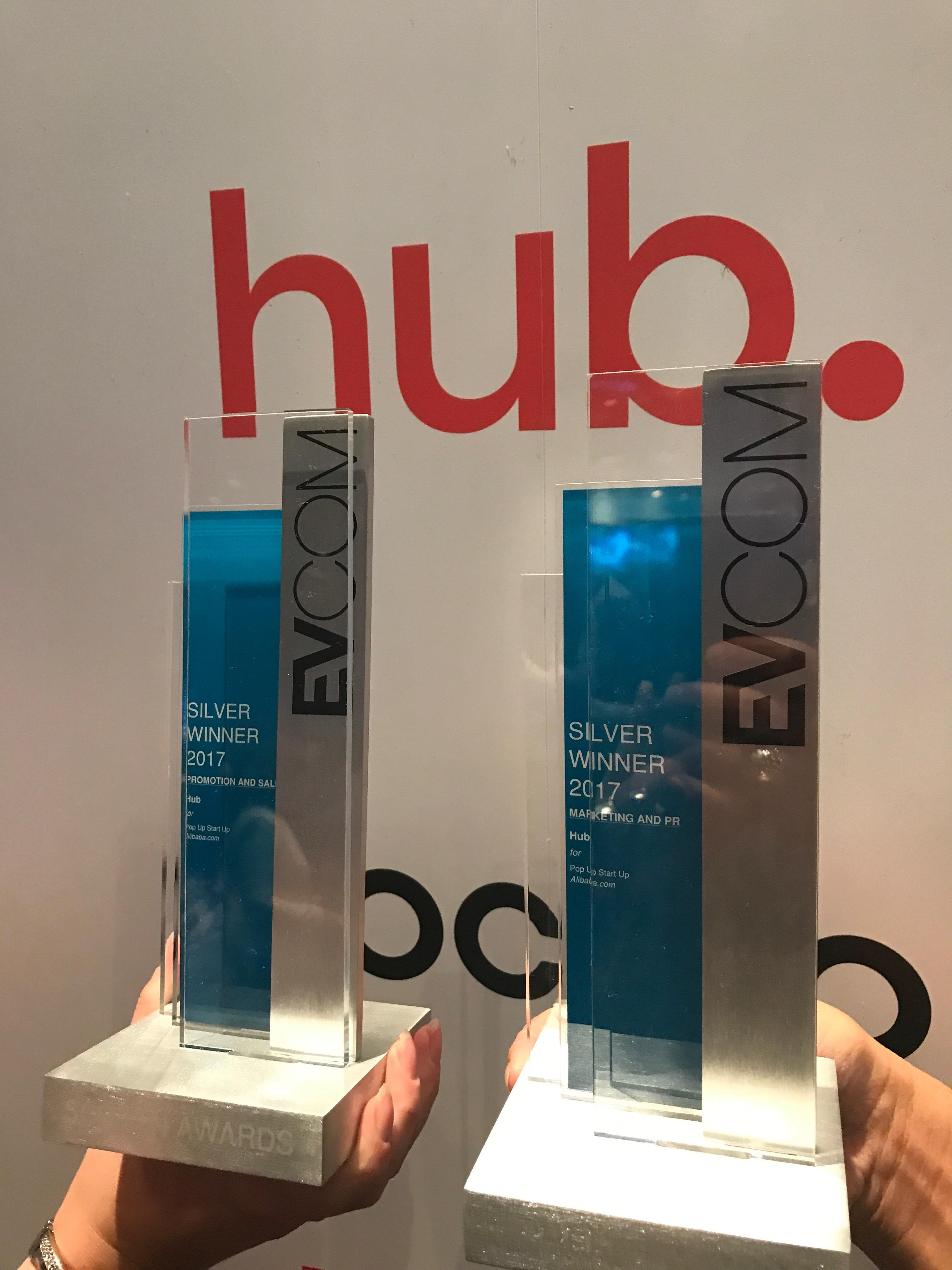 Two Silver Wins for Hub!